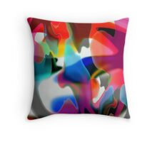 HAPPINESS IS A LOVELY, WARM FEELING Throw Pillow