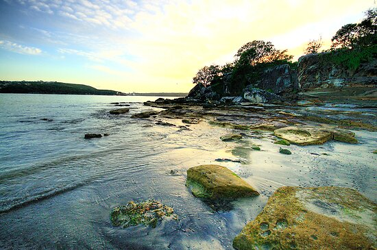 On The Rocks - Balmoral Beach - The HDR Experience by Philip Johnson