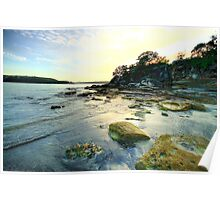 On The Rocks - Balmoral Beach - The HDR Experience Poster