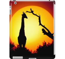 Tall sunset iPad Case/Skin