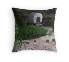 Camping Old Wild West Style Throw Pillow