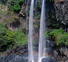 Jeongbang waterfall  by leksele