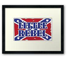 Little rebel Framed Print
