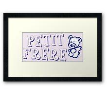 Petit frère Framed Print