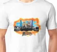 Melbourne City- City Collage Unisex T-Shirt