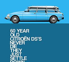 Citroen DS Safari / Break 60th anniversary by RJWautographics