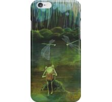 Frog on his Rock iPhone Case/Skin