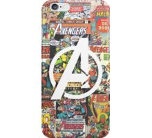 Avengers - Comics iPhone Case/Skin