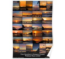 The Greatest Sunsets on Earth Poster