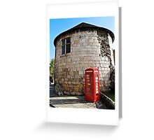 Historical icons of England Greeting Card