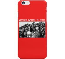 Wonder Woman in China - Fan Art Superheroes iPhone Case/Skin