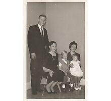 ~A family portrait~ 1962 Photographic Print