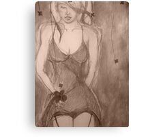 Touch Too Much (2) Canvas Print