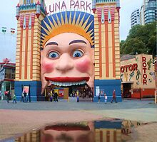 Luna Park .. twice the fun by Michael Matthews
