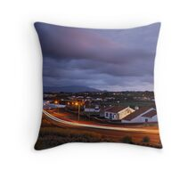 Village at twilight Throw Pillow