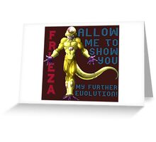 Golden Frieza - Revival of F Greeting Card