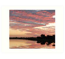 Lakefront Kissimmee, FL Art Print