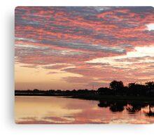 Lakefront Kissimmee, FL Canvas Print