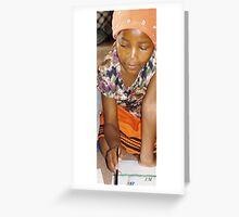 Girl at Khayelitsha Township Greeting Card
