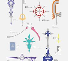 Organisation XIII weapons inventory by saina