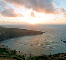 Hanauma Bay Sunrise by kevin smith  skystudiohawaii