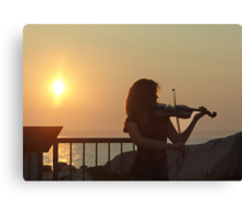 Serenade at Sunset Canvas Print
