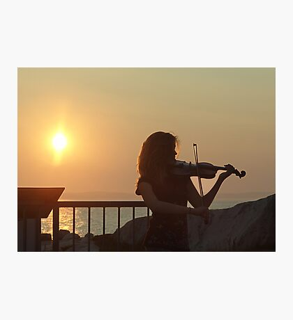Serenade at Sunset Photographic Print