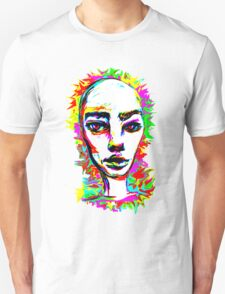 Psychedelic-Pop; Miss Prabrah Brows T-Shirt