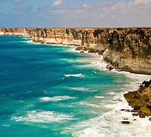 Bunda Cliffs - Nullarbor Plain, South Australia by Stephen Permezel
