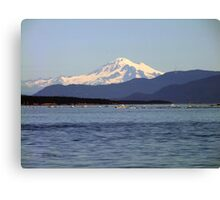 Mountain,Sea and Sky Canvas Print