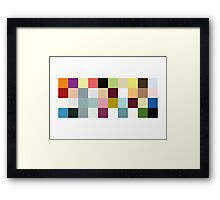 Look Closely... Framed Print