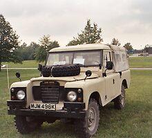 """""""Land Rover SIII 24Volt Radio Shack"""" by Vincent von Frese"""