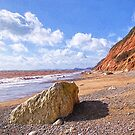 Branscombe Beach - Impressions by Susie Peek
