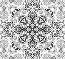 Pattern in Black & White by micklyn