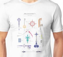 Organisation XIII weapons inventory Unisex T-Shirt
