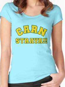 Carn Straya (Come on Australia) Women's Fitted Scoop T-Shirt
