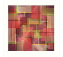 Circuit Abstract Art Print