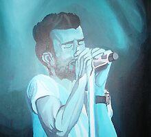 Adam Levine in Concert by sara2442