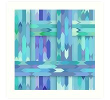 Weave Abstract Art Print