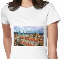 Looking Over San Alfonso, Cuenca, Ecuador Womens Fitted T-Shirt