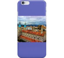 Looking Over San Alfonso, Cuenca, Ecuador iPhone Case/Skin