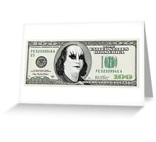 Gothic Banknote Parody Greeting Card
