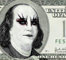 Gothic Banknote Parody Sticker
