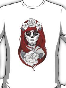 Santa Muerte Red hair T-Shirt
