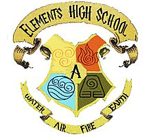 Elements High School Photographic Print