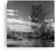 Sunday River Walk Canvas Print
