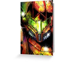 Samus-Skatch Greeting Card