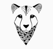 Cheetah black and white Unisex T-Shirt