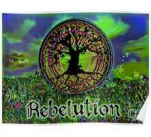 Rebelution Tree of Life 'Bright Side of Life' #3 Beautiful Artwork #2 Poster