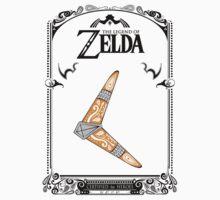 Zelda legend - Boomerang doodle Baby Tee